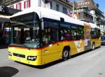 Postauto - Volvo 7700 Hybrid  BE 610543 unterwegs in Interlaken am 21.09.2015