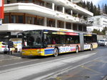 VBD / Postauto - Mercedes Citaro GR 102356 unterwegs in Davos am 26.03.2016