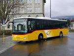 Postauto - Iveco Crossway  VD 146539 in Yverdon les Bains am 28.03.2016