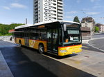 Postauto - Mercedes Citaro  VD  5491 unterwegs in Lausanne am 10.05.2016