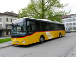 Postauto - Iveco Crossway AR 14854 bei den Haltestellen in Heiden am 15.05.2016