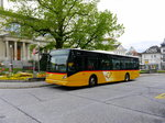 Postauto - VanHool NEW A 360  SG 289531 bei den Haltestellen in Heiden am 15.05.2016