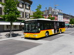 Postauto - Mercedes Citaro JU 61305 unterwegs in Delemont am 09.07.2016