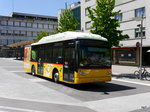 Postauto - VanHool Gasbus JU 49735 unterwegs in Delemont am 09.07.2016