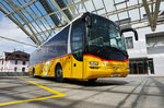 Ein MAN Lion´s Regio von PostAuto am 21.7.2016 in Chur, Postautostation.