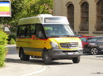 Postauto - Mercedes AI 2817 in Appenzell am 24.07.2016