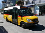 Postauto - Mercedes Sprinter  BE  477965 in Lauterbrunnen am 14.08.2016