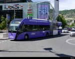 VMCV - VanHool Trolleybus Nr.812 unterwegs in Vevey am 2020.05.04