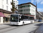 VBD / Kessler - Mercedes Citaro GR 5965 unterwegs in Davos am 26.03.2016