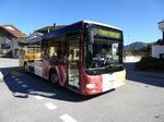 Ortsbus Laax - MAN Lions City GR 161644 unterwegs in Laax am 28.09.2016