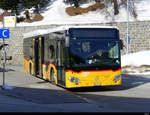 Postauto - Mercedes Citaro  GR  177315 in St.