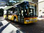 Postauto - Setra S 414 NF  TI  162734 in Bellinzona am 18.09.2013