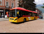 Volvo 7900 Hybrid TI  72273 unterwegs in Bellinzona am 16.05.2019