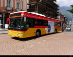 Postauto - Mercedes Citaro  TI  228012 unterwegs in Belinzona am 16.05.2019
