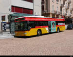 Postauto - Mercedes Citaro TI 228013 in Bellinzona am 31.07.2020