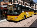 Postauto - Setra S 415 H  GR  108007 in Bellinzona am 31.07.2020