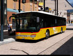 Postauto - Setra S 415 NF  TI  162734 in Bellinzona am 31.07.2020