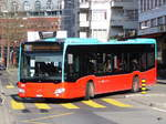 VB Biel - Mercedes Citaro Nr.197  BE 821197 unterwegs in Biel am 28.03.2017