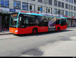 VB Biel - Mercedes Citaro Nr.190  BE 821190 unterwegs in der Stadt Biel am 24.04.2021
