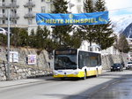 VBD - Mercedes Citaro Nr.9  GR 83532 unterwegs in Davos am 26.03.2016
