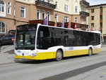 VBD - Mercedes Citaro Nr.10  GR 35 unterwegs in Davos am 26.03.2016