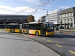 Postauto - MAN Lion`s City  LU  15071 unterwegs in Luzern am 28.03.2016