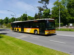 Postauto - Mercedes Citaro  LU  15030 unterwegs in Luzern am 21.05.2016