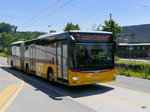 Postauto - MAN Lion`s City  LU  15071 unterwegs in der Stadt Luzern am 21.05.2016