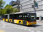 Postauto - MAN Lion`s City LU 15559 unterwegs in der Stadt Luzern am 21.05.2016