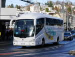 Scania Irizar Reisecar unterwegs in Luzern am 09.12.2017