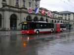 Stadtbus Winterthur - MAN Lion`s City  Nr.354  ZH  886354 unterwegs auf der Linie 5 in Winterthur am 25.10.2016