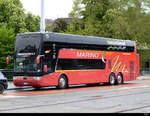 Reisebus VanHool unterwegs in Zürich am 11.05.2019