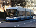 VBZ - Trolleybus  Nr.65 in Zürich Altstetten am 21.02.2021