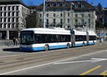VBZ - Trolleybus Nr.83 in Zürich am 21.02.2021