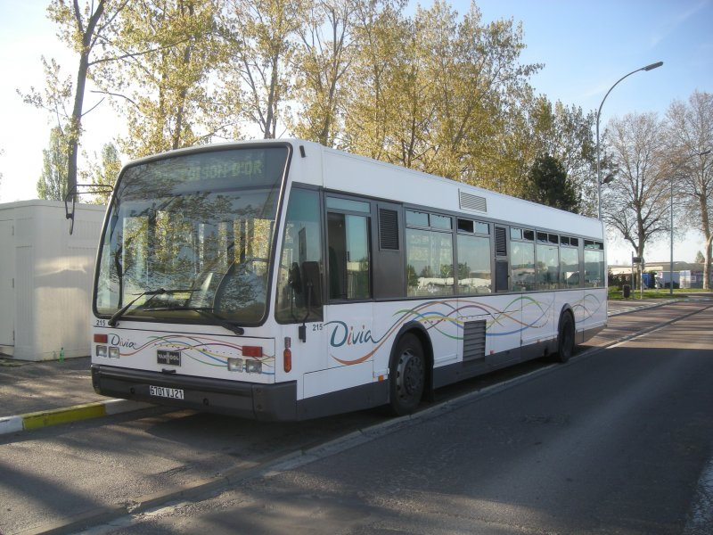 van hool a300 wagen 215 divia dijon fr bus. Black Bedroom Furniture Sets. Home Design Ideas